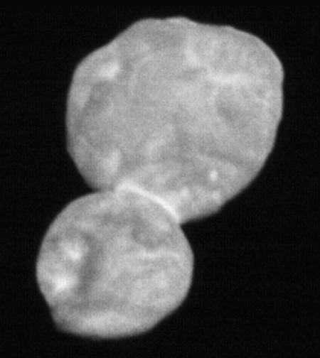 Ultima Thule, the snowman