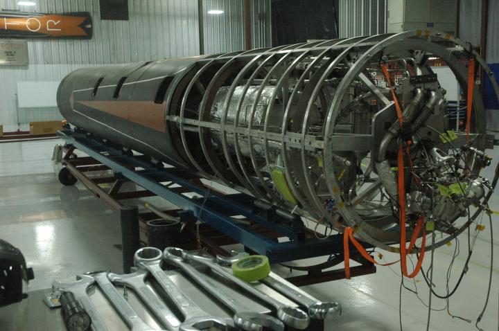 Vector's 0003 test rocket