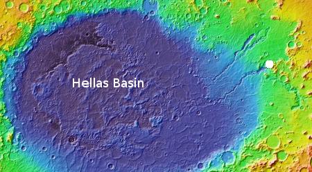 Location on Mars