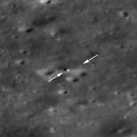 Yutu-2 and Chang'e-4 on far side of Moon