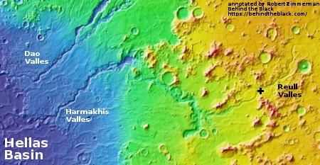 Overview of Reull Valles region