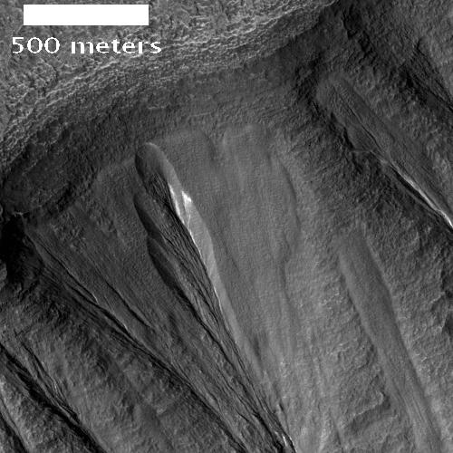 Snow on Mars?