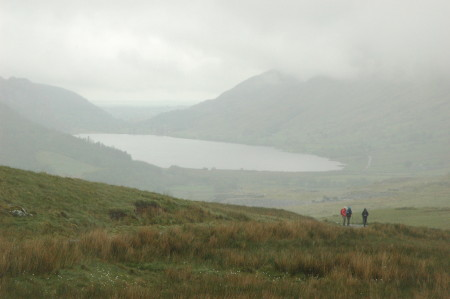 Lower part of Rhyd Ddu trail