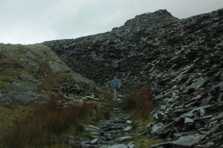 Walking through West Snowdon Quarry