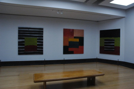 Abstract art by Sean Scully
