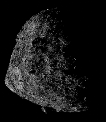 Bennu from about 2,200 feet