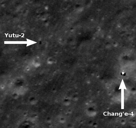 Yutu-2 and Chang'e-4