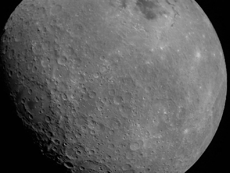 The Moon as seen by Chandrayaan-2
