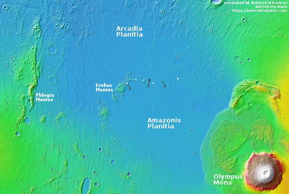 Starship landing sites