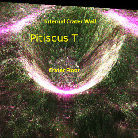 Radar image from Chandrayaan-2