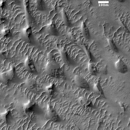 The floor of Valles Marineris
