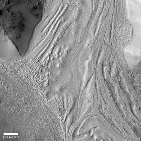 Glacier on Mars?