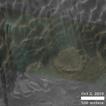 Buzzell dunes, October 2, 2019
