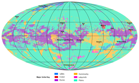 Global geologic map of Titan