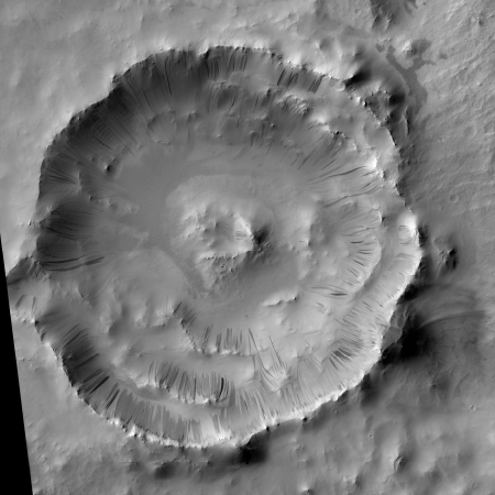 Full crater image