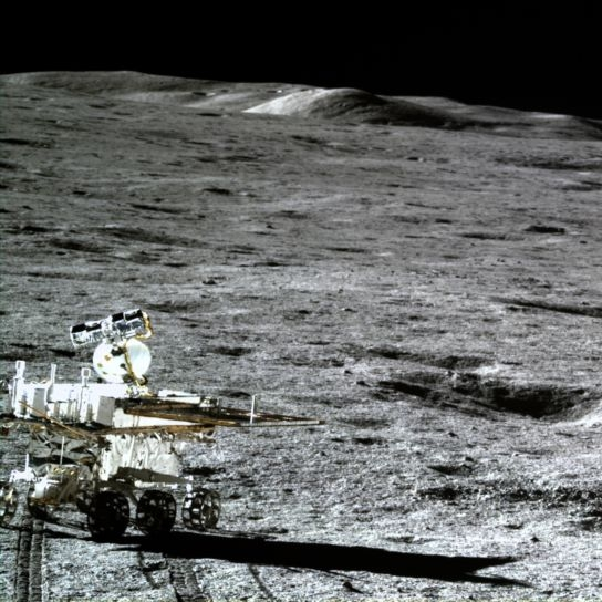 Yutu-2 on the far side of the Moon