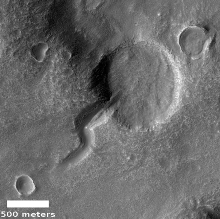 Tadpole on Mars