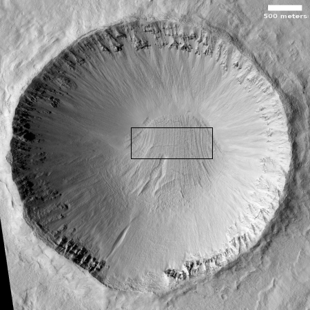 Full crater view