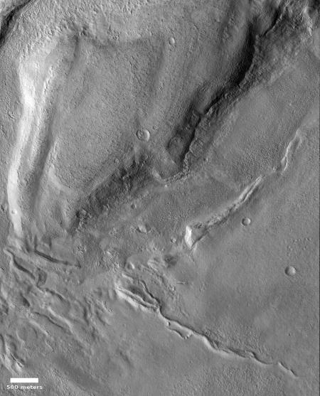 Wider view of ridge and surrounding terrain