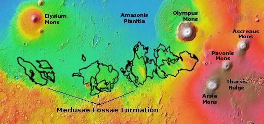 The Medusae Fossae Formation on Mars