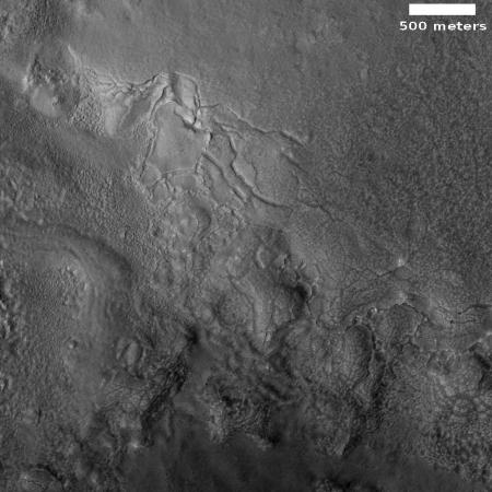 glacial breakup on Mars