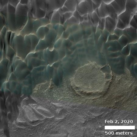 Buzzell dunes, February 2, 2020