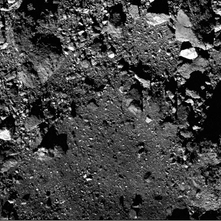 Closest NavCam-2 image during rehearsal