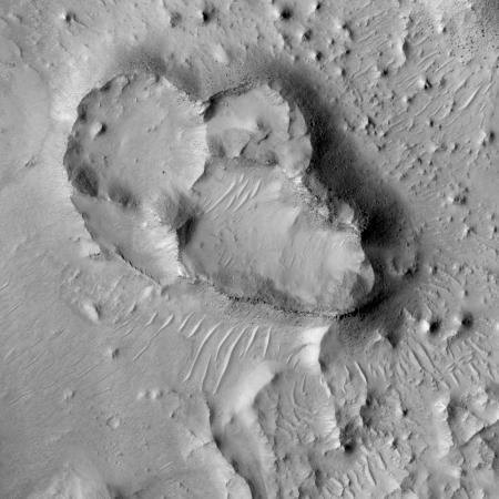 Pedestal craters?