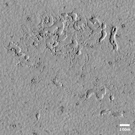 A Martian lava flood plain?