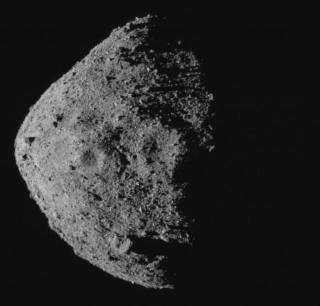 Bennu's craters