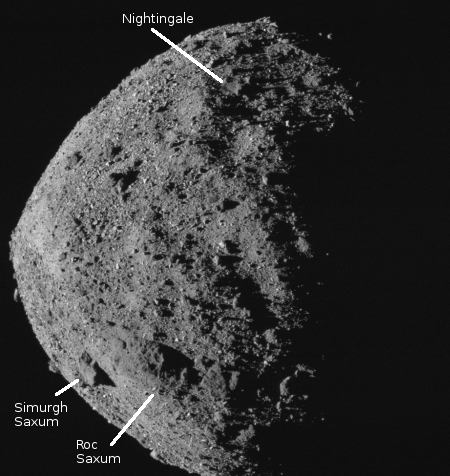 Bennu, annotated