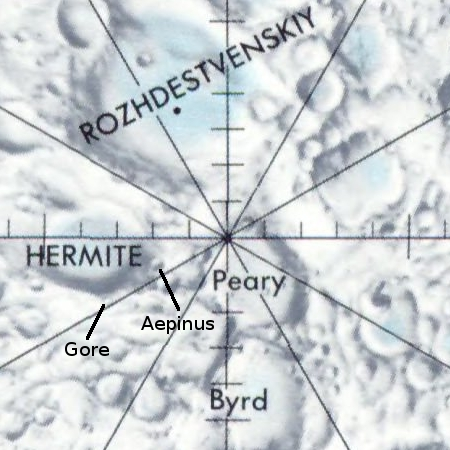 Map Overview of North Pole