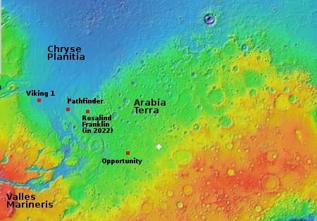 Overview of Arabia Terra