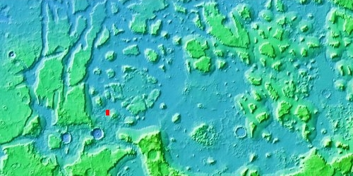 Overview of Deuteronilus Mensae