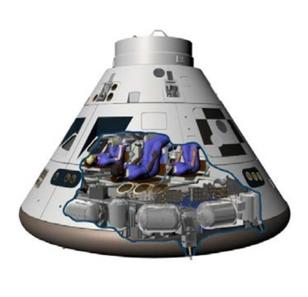 The Orion capsule