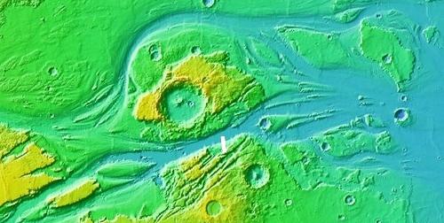 Kasei Valles outlet