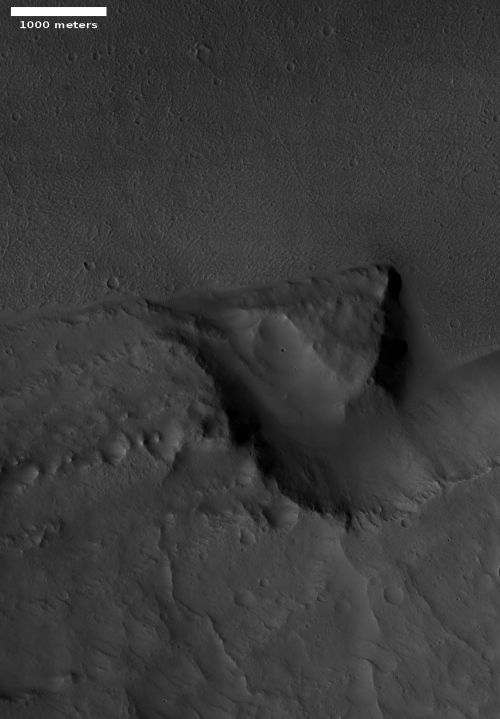 Big rock break in Kasei Valles