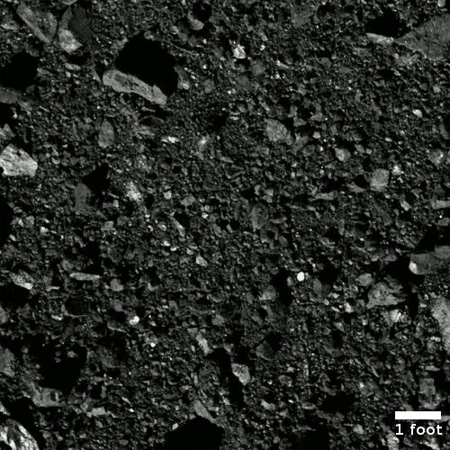 Closest view of Nightingale taken by OSIRIS-REx
