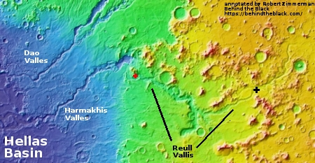 Overview of Reull Vallis