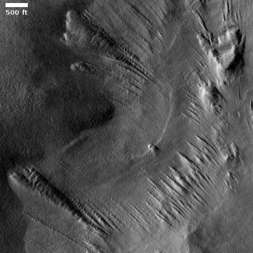 Weird ridges