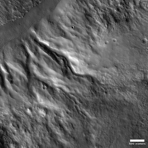 Meandering channels on Mars