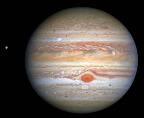Jupiter, as seen by Hubble in 2020