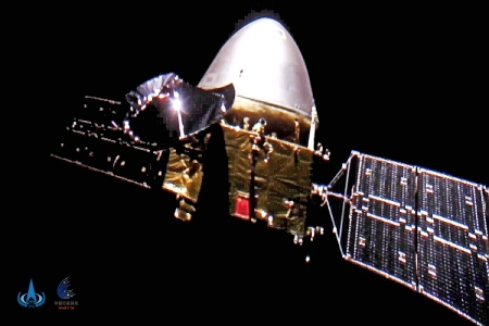 Tianwen-1 on its way to Mars
