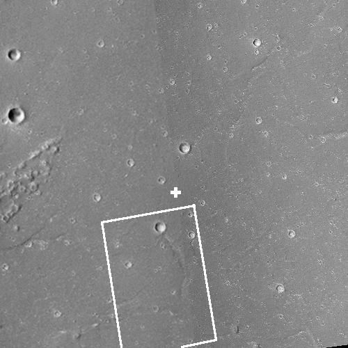 The prime landing site for China's Mars rover?
