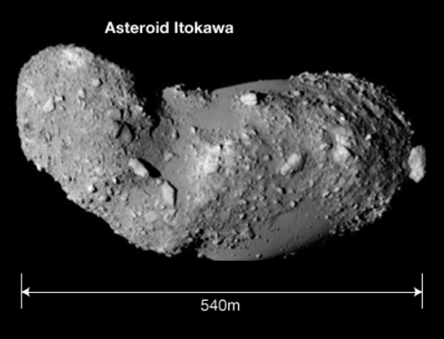 The asteroid Itokawa