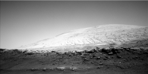 Mt Sharp in the distance