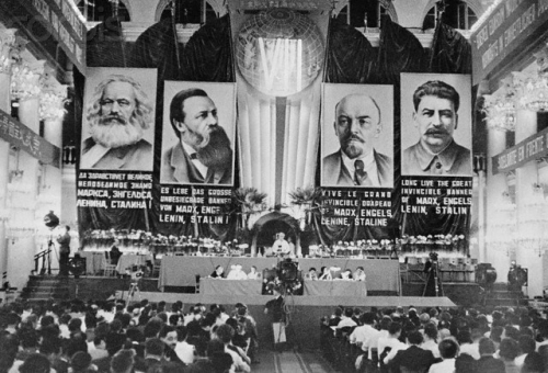 The show trials of the USSR