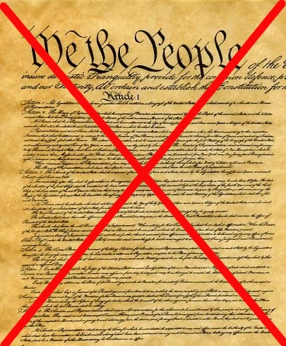 The dead Constitution
