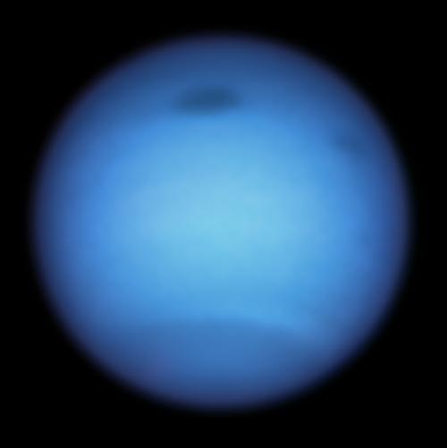 Dark storm on Neptune