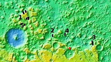 Protonilus Mensae overview